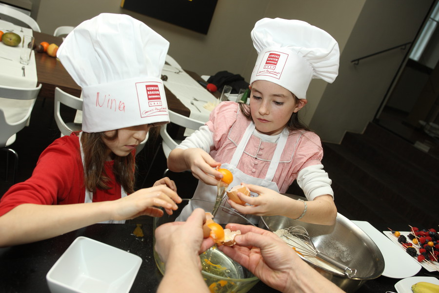 Seit Beginn im Jahr 2010 haben mehr als 960 Kinder diese Kochkurse besucht (Foto Graz Tourismus Harry Schiffer)