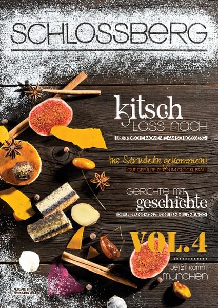Das SCHLOSSBERG Magazin mit vielen unterhaltsamen und interessanten Berichten für Kulinarikfreunde.