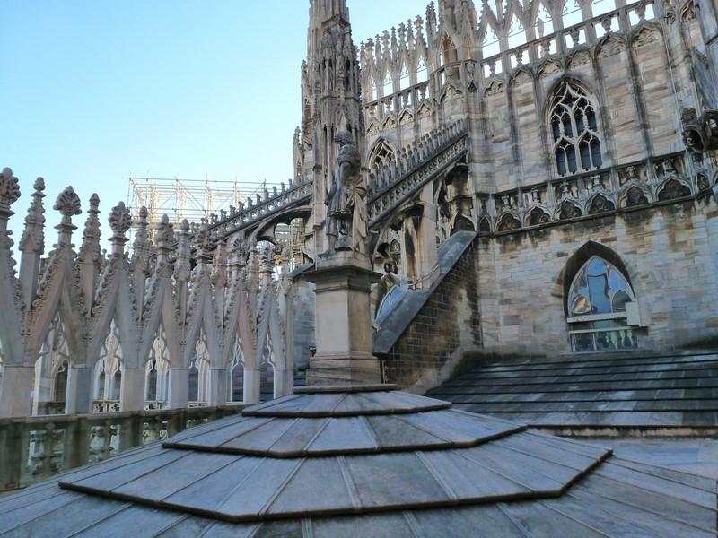 Der Mailänder Dom, Duomo di Santa Maria Nascente, ist eines der berühmtesten Bauwerke Italiens und Europas und die Kathedrale des Erzbistums Mailand (Foto Hedi Grager)