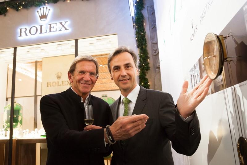 Auch der Grazer Bürgermeister Siegfried Nagl liess sich die Eröffnung der Rolex Boutique nicht entgehen (Foto GEOPHO by Jorj Konstantinov)
