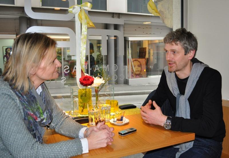 Hedi Grager und Michael Koller im Grazer Conceptstore JOMA Fashion (Foto Reinhard Sudy)