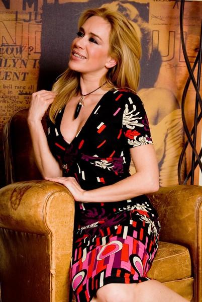 """Monika Cetin schminkte auch ihre Freundin Barbara Nidetzky oft für Modeljobs: """"Barbara war als Model ein sehr spezieller Typ mit tollen Haaren, sehr professionell, unkompliziert und sehr sympathisch"""" (Foto Monika Cetin)."""