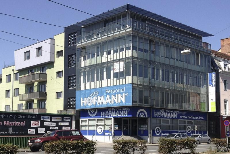 Ein weiteres Projekt von Wolfgang Erber in der Grazer Conrad von Hötzendorf Straße.