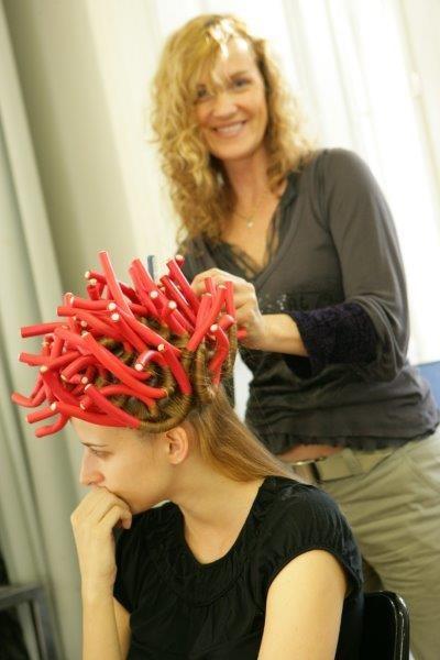 Auch Topmodel Eva Padberg vertraut den Händen von Monika Cetin.
