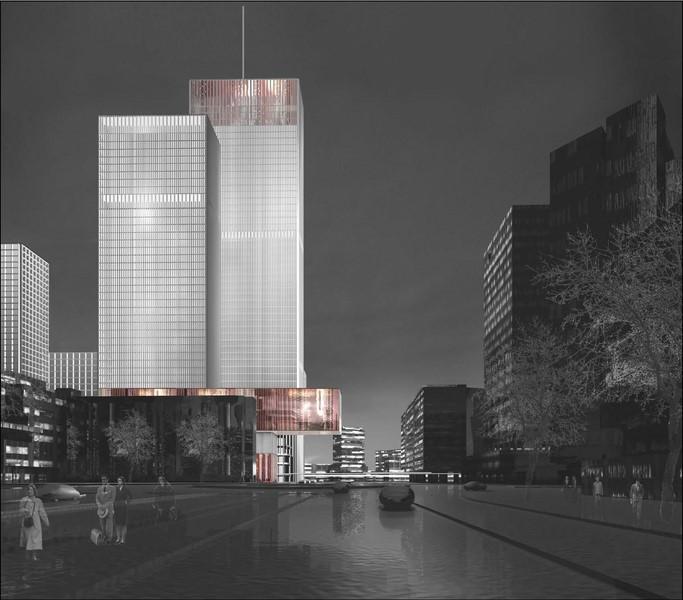Hochhauskomplex Schiekadeblock, Rotterdam (© Claus en Kaan Rotterdam)