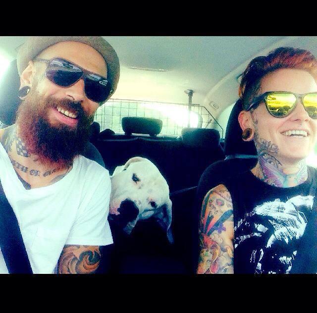 Seit Jänner 2012 ist Mike bei der Grazer Agentur Tattoomodels.at von Christine Zimmer unter Vertrag (Selfie)