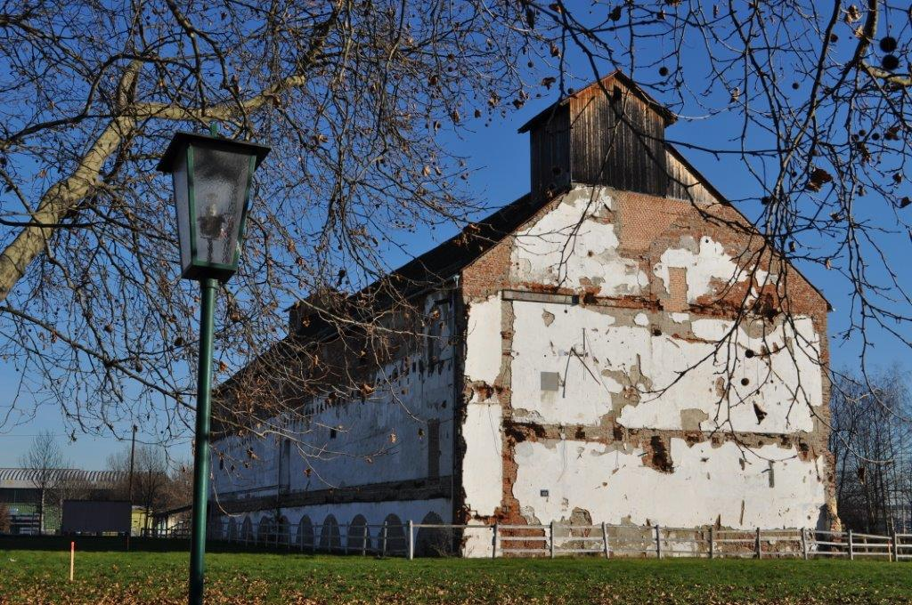 Die alte Markthalle auf den Reininghaus-Gründen, die Wolfgang Erber erhalten wird (Foto Reinhard Sudy)