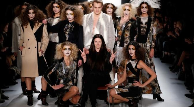 Rebekka Ruetz und ihre extravaganten Kreationen