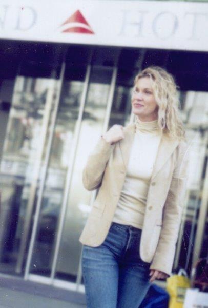 Monika Cetin bei einem Modeljob (Foto Rafaela Pröll für das Trend Austria Hotel).