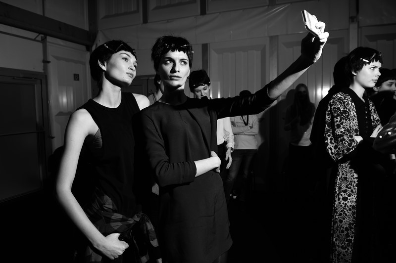 Use Unused Backstage - Mercedes-Benz Fashion Week Berlin Autumn/Winter 2015/16