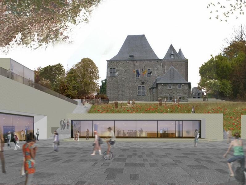 Wettbewerb Hôtel de ville Gembloux (© Yaron Tam)