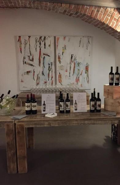 """Präsentation der """"Menschen""""-Bilder von Hans Beletz im Wiener Weinclub 7, begleitet von Weinen vom Weingut Esterházy (Foto A.R.T. consultinggroup.com)"""