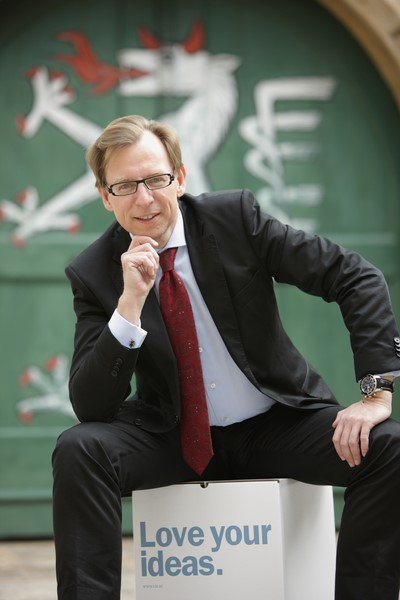 """LR Dr. Christian Buchmann:  """"Den größten Input für die Steiermark erreichte ich, als wir Wirtschaft und Wissenschaft mit dem Kompetenzzentrumprogramm näher zusammengebracht haben (Foto Schiffer)"""