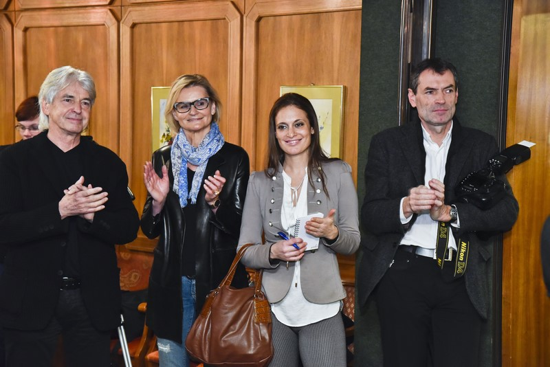 Dr. Reinhard Sudy (www.reisepanorama.at), Hedi Grager (www.hedigrager.com), Christina Dow, Agentur public und Starfotograf Christian Jungwirth (Foto Werner Krug)