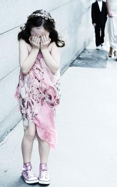 """Süsses kleines Model"" in Eva Poleschinski TO GO Top-Skirt-Dress (Foto Eva Maria Guggenberger)"