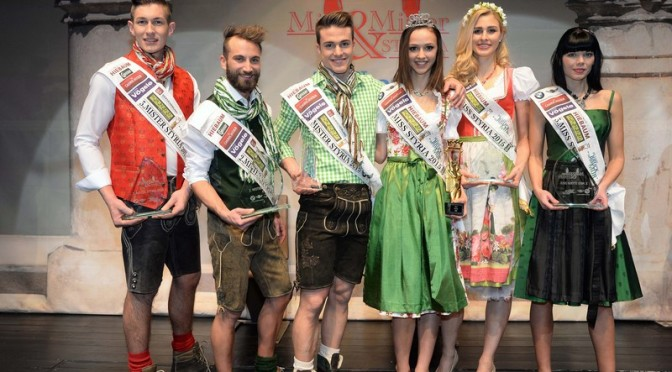 Miss & Mister Styria 2015 Cornelia Stangl & Christoph Ranz