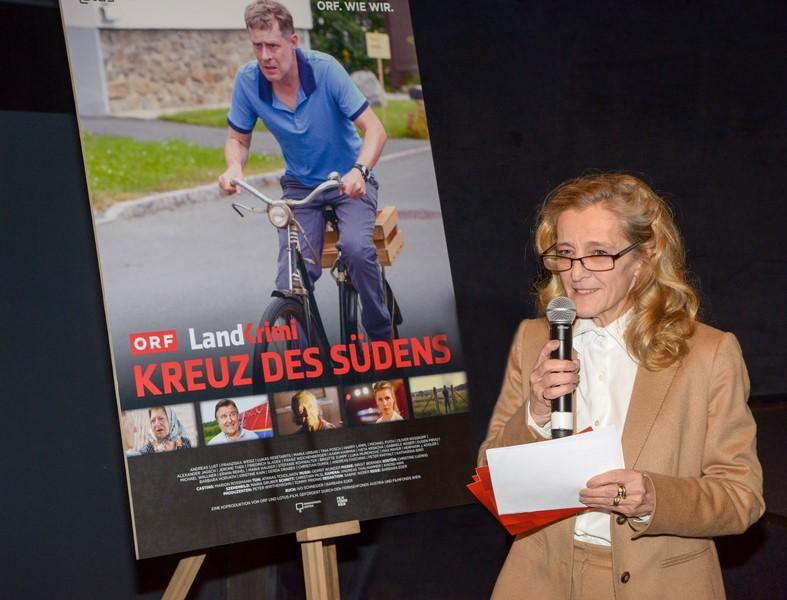 """ORF-Fernsehdirektorin Mag. Kathrin Zechner: """"Drehbuchautorin und Regisseurin Barbara Eder schenkt uns einen überraschenden, spannenden, komischen und perfiden Krimi (Foto ORF/Hubert Mican)"""