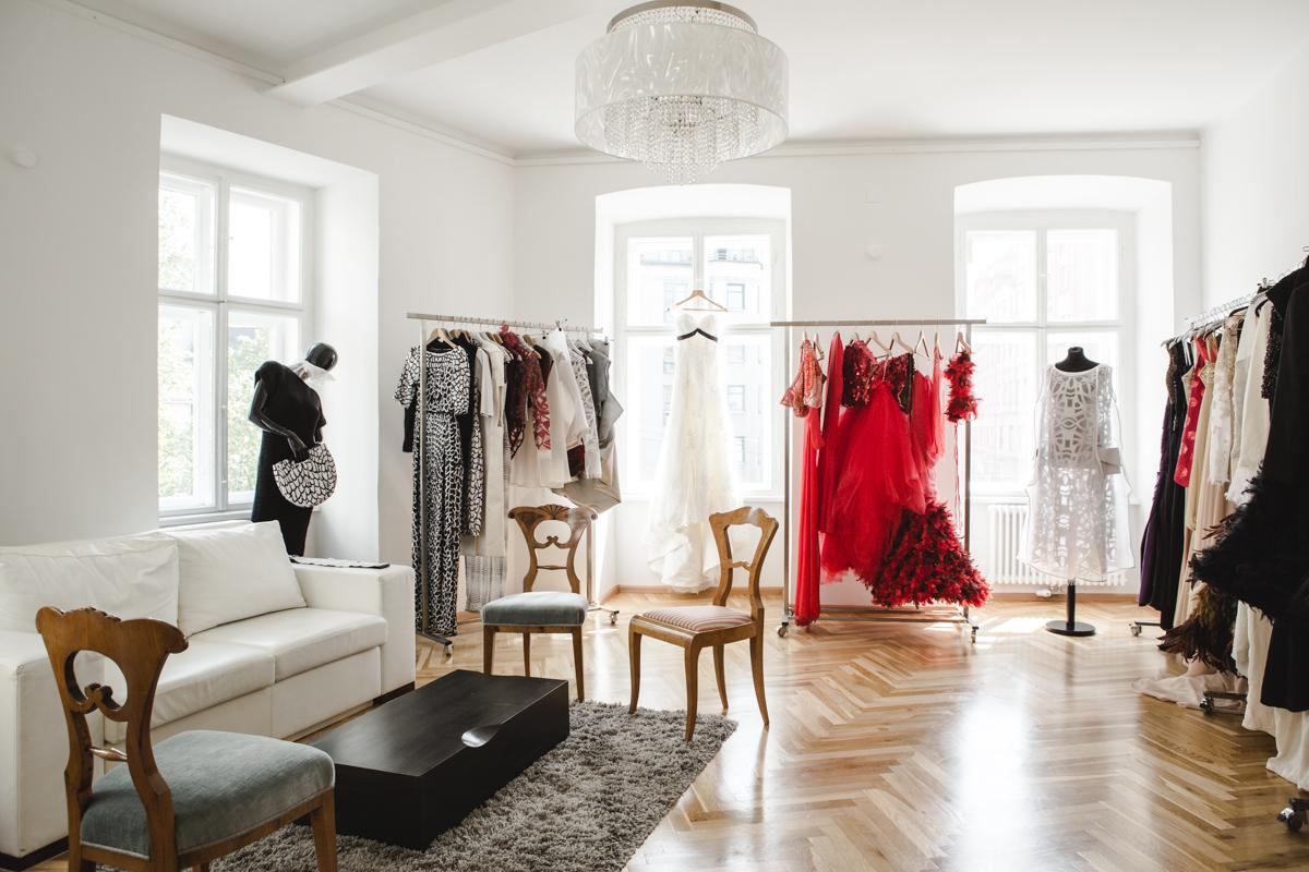 Evas gemütliches Atelier in der Wiener Schadekgasse (Foto Tiefenrausch)
