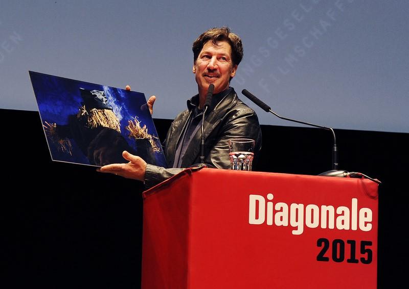 Tobias Moretti wurde mit dem Großen Diagonale-Schauspielpreis für seine Verdienste um die österreichische Filmkultur ausgezeichnet (Foto Diagonale_Alexi Pelekanos)