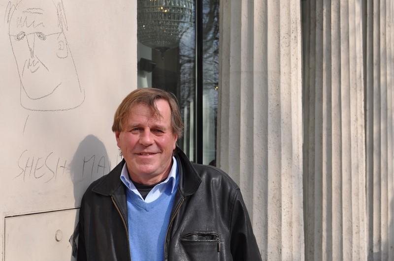 """Sein neues Projekt: Burkhard wird mit seinem Cousin Gregor Schmoll mit einem Motorboot von Duino bis Turin fahren. """"Das ist eine 700 km lange Reise durch die Lagunen und entlang des Po"""", erklärt Burkhard (Foto Reinhard Sudy)"""