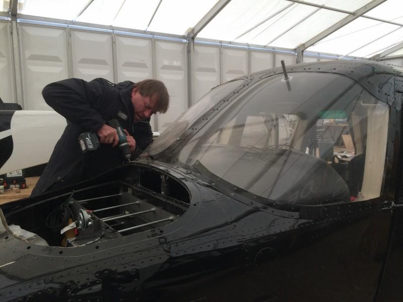Burkhard Stulecker bei den James Bond Dreharbeiten in Tirol.