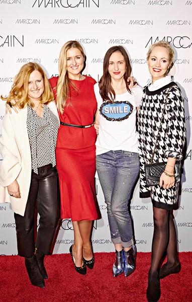 Kathryn Gelinsky hielt einen Vortrag über ihr Bloggerleben bei einem Store-Event von Marc Cain in Nürnberg (Foto www.wunschfrei.com)