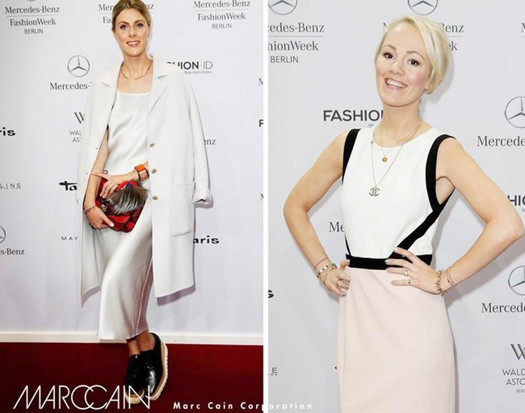 Kathrin Gelinsky lief bei der Mercedes Benz Fashion Week zum ersten Mal selbst über den roten Teppich (Foto www.wunschfrei.com)