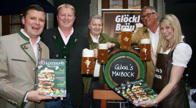 Schlossberg Magazin und Maibock-Anstich
