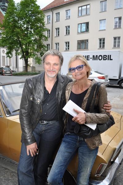 Geduldig und sehr gut gelaunt gab mir Stefan Jürgens ein kurzes Interview nach den Dreharbeiten zur neuen Folge von SOKO Donau (Foto Reinhard Sudy)