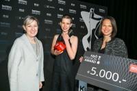 Sandra Rosenfelder, Designerin Sabrina Stadlober und Andrea Krobath (Foto Oliver Wolf)