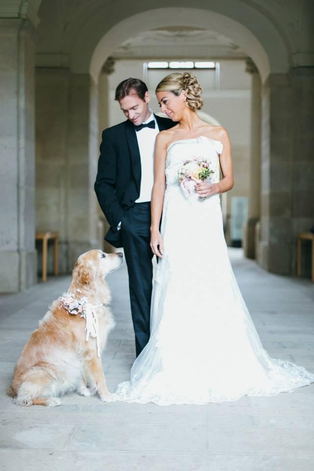 Im Juli heiratet Yvonne ihren Robert - und natürlich wird auch Nikita dabei sein (Foto: Julia und Gil / Weddingplanery)