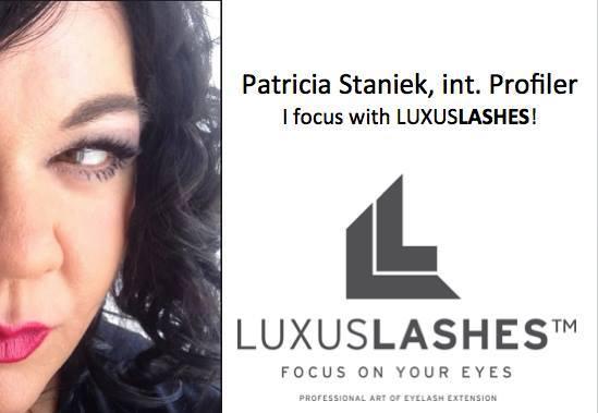 Die erfolgreiche Profilerin ist auch das Testimonial der Marke LUXUS LASHES.