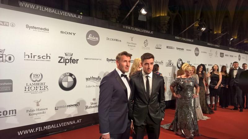 Mark und Aaron Keller 'rockten' den Filmball Vienna 2015 (Foto Hedi Grager)