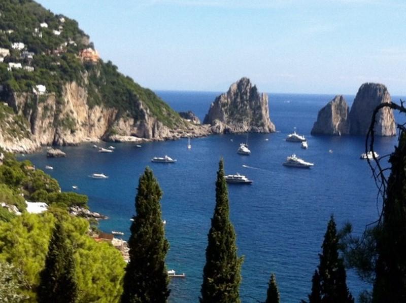 """""""Capri ist pure Magie und für mich einer der schönsten Plätze auf der Erde"""", schwärmt Niki Veit."""