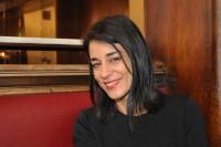 Schauspielerin und Musikerin Edita Malovcic (Foto Reinhard Sudy)