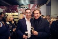 Juweliere unter sich: Klaus Weikhart und Hans Schullin (Foto Joel Kernasenko)