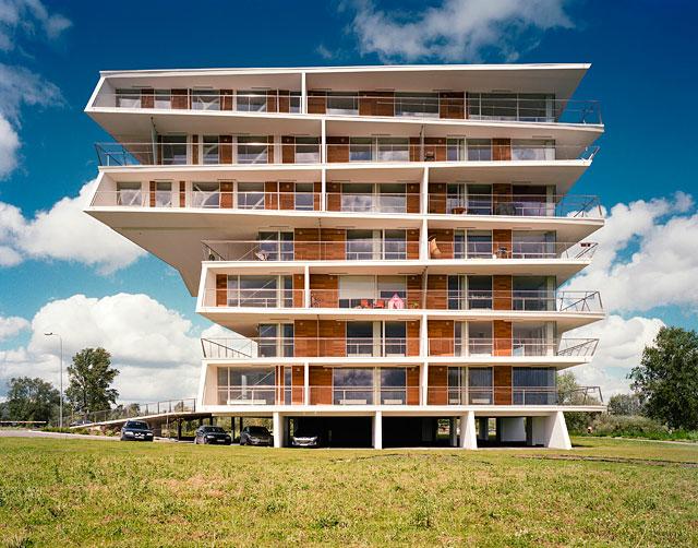 Housing Estate in Tartu, Estonia. Invited competition, 1st prize (Foto Atelier Thomas Pucher)