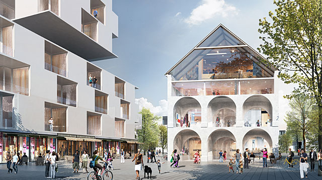 Reininghaus Masterplan, 1. Prize Invited Competition 2009, Masterplan completed 2010  (Foto Atelier Thomas Pucher)
