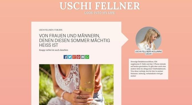 Uschi Fellner – Familie ist mein Motor