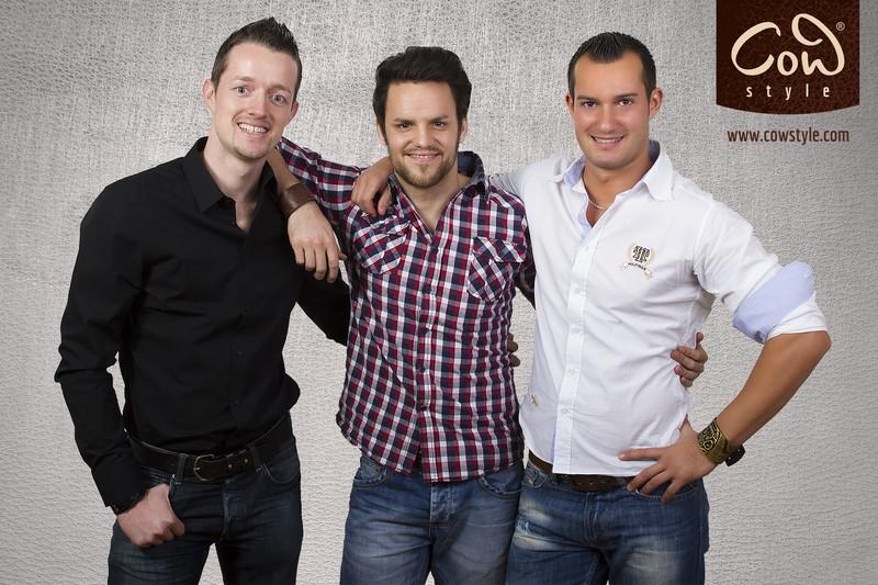 Christian, Oliver und Wolfgang - gemeinsam sind sie COWstyle (Foto COWstyle)