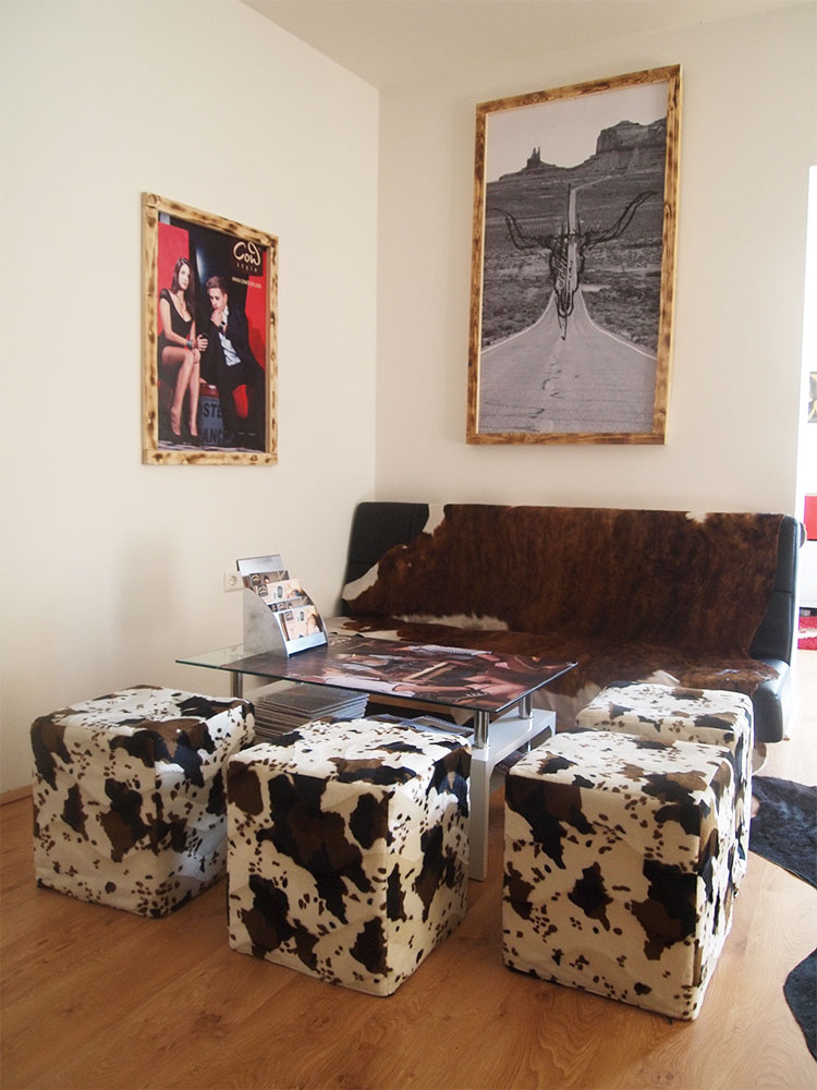 Der COWstyle Shop mit seiner gemütlichen Sitzecke (Foto COWstyle)