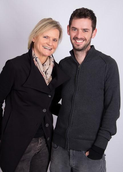 Hedi Grager im Gespräch mit dem international erfolgreichen Fotografen Mathias Kniepeiss (Foto Jasmin Rathkolb)