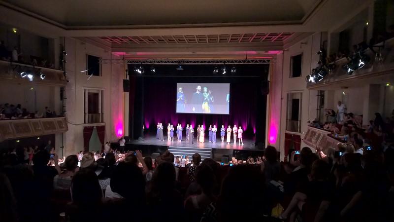 Marcel Ostertag wählte diesmal den Admiralspalast in Berlin für die Präsentation seiner Show (Foto Hedi Grager)