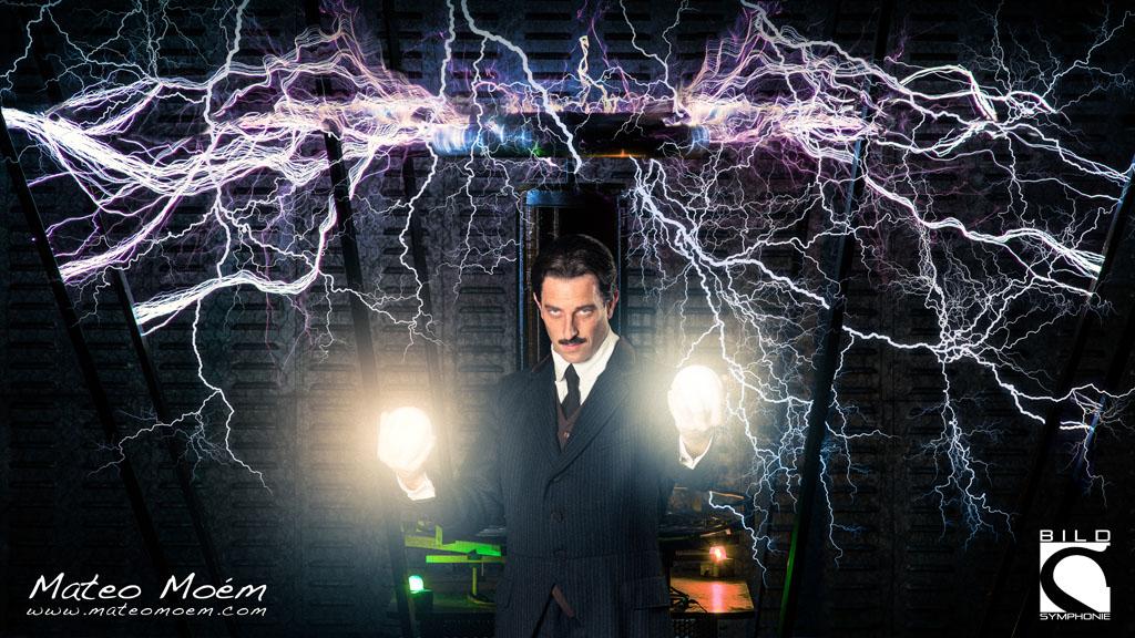 """Mateo Moém: Die Serie """"Nikola Tesla"""" hat bei einem der größten Fotoprojekt-Wettbewerben der Welt, dem """"Prix de la Photographie, Paris"""" (Px3) 3 Awards in den Kategorien """"Portrait Professional"""" und """"Advertising Professional"""" gewonnen - und das aus tausenden von Einreichungen aus 85 Ländern."""