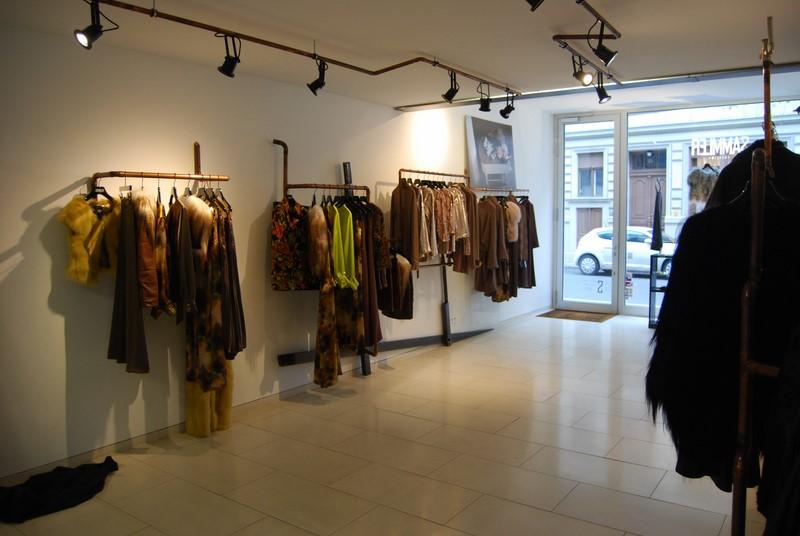 Rebecca Sammler fertigt exklusive Pelz- und Ledermode, aber auch Haute Couture und Abendkleidung (Foto SAMMLER Berlin)