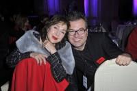 Reinhard Mätzler mit Christine Kaufmann bei der MINX Fashion Night in der Residenz in Würzburg am 12.10.2013 (Foto SuccoMedia / Ralf Succo)
