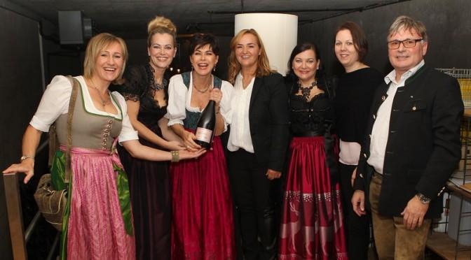 Renate Polz lud zur Ladies-Sektverkostung