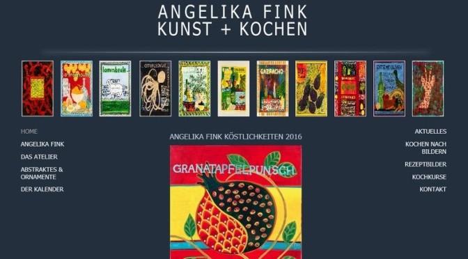 Angelika Fink – Atelier für Kunst und Kochen