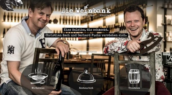 Hauben für 'Die Weinbank' in Ehrenhausen