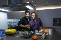 Thomas Schauer mit David Boulud (Photographs by Thomas Schauer)